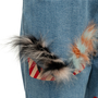 Authentic Second Hand Fendi Monster Eye Boyfriend Jeans (PSS-990-00427) - Thumbnail 2