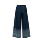 Authentic Second Hand Christian Dior Printed Wide Leg Jeans (PSS-990-00430) - Thumbnail 1