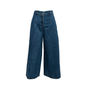 Authentic Second Hand Chanel Distressed Wide Leg Jeans (PSS-990-00435) - Thumbnail 0