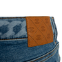 Authentic Second Hand Chanel Chainlink Print Jeans (PSS-990-00436) - Thumbnail 2