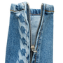 Authentic Second Hand Chanel Chainlink Print Jeans (PSS-990-00436) - Thumbnail 4