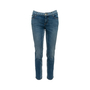 Authentic Second Hand Chanel Chainlink Print Jeans (PSS-990-00436) - Thumbnail 0