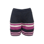 Authentic Second Hand Chanel Knit Stripe Shorts (PSS-990-00449) - Thumbnail 0