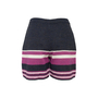 Authentic Second Hand Chanel Knit Stripe Shorts (PSS-990-00449) - Thumbnail 1