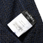 Authentic Second Hand Chanel Knit Stripe Shorts (PSS-990-00449) - Thumbnail 3