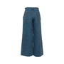 Authentic Second Hand Chanel Stripe Panel Culotte Jeans (PSS-990-00434) - Thumbnail 1