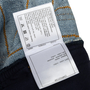 Authentic Second Hand Chanel Stripe Panel Culotte Jeans (PSS-990-00434) - Thumbnail 3