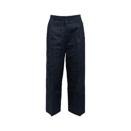 Authentic Second Hand Hermès Straight Cut Jeans (PSS-990-00440)