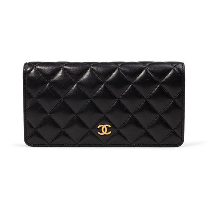 Authentic Second Hand Chanel Classic Long Flap Wallet (PSS-A34-00002)
