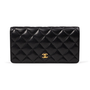 Authentic Second Hand Chanel Classic Long Flap Wallet (PSS-A34-00002) - Thumbnail 0