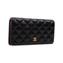 Authentic Second Hand Chanel Classic Long Flap Wallet (PSS-A34-00002) - Thumbnail 1