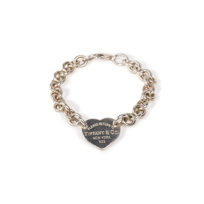 Authentic Second Hand Tiffany & Co Heart Tag Bracelet (PSS-A34-00003)