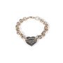 Authentic Second Hand Tiffany & Co Heart Tag Bracelet (PSS-A34-00003) - Thumbnail 0