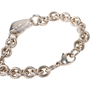 Authentic Second Hand Tiffany & Co Heart Tag Bracelet (PSS-A34-00003) - Thumbnail 3