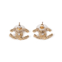 Authentic Second Hand Chanel CC Twisted Earrings (PSS-A34-00007) - Thumbnail 1