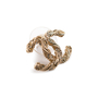 Authentic Second Hand Chanel CC Twisted Earrings (PSS-A34-00007) - Thumbnail 2