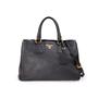 Authentic Second Hand Prada Shopping Vitello Daino Satchel (PSS-A34-00032) - Thumbnail 0