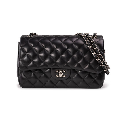 Authentic Second Hand Chanel Classic Jumbo Flap Bag (PSS-A34-00036)
