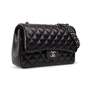 Authentic Second Hand Chanel Classic Jumbo Flap Bag (PSS-A34-00036) - Thumbnail 1
