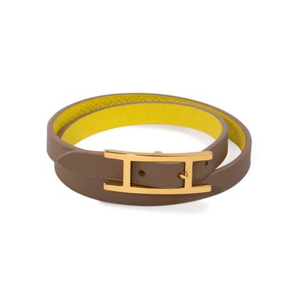 Authentic Second Hand Hermès Behapi Double Tour Bracelet (PSS-A49-00001)