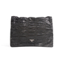 Authentic Second Hand Prada Nappa Gaufre Flap Clutch (PSS-A32-00001) - Thumbnail 0