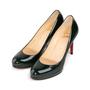 Authentic Second Hand Christian Louboutin Neofilo Patent Pumps (PSS-956-00082) - Thumbnail 3