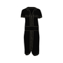 Authentic Second Hand Chanel Contrast Trim Knit Dress (PSS-956-00088) - Thumbnail 0