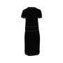 Authentic Second Hand Chanel Contrast Trim Knit Dress (PSS-956-00088) - Thumbnail 1