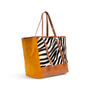 Authentic Second Hand See by Chloe Zebra Calf Hair Tote (PSS-A32-00004) - Thumbnail 1