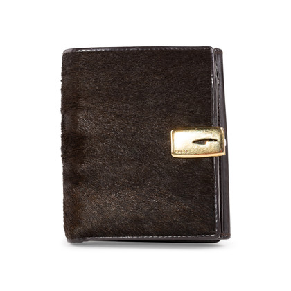 Authentic Second Hand Gucci Calf Hair Bifold Wallet (PSS-A32-00005)