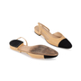 Authentic Second Hand Chanel Two Tone Slingbacks (PSS-A47-00001) - Thumbnail 5