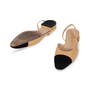Authentic Second Hand Chanel Two Tone Slingbacks (PSS-A47-00001) - Thumbnail 4