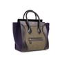 Authentic Second Hand Céline Felt Mini Luggage Bag (PSS-A47-00003) - Thumbnail 1