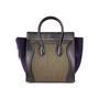 Authentic Second Hand Céline Felt Mini Luggage Bag (PSS-A47-00003) - Thumbnail 2