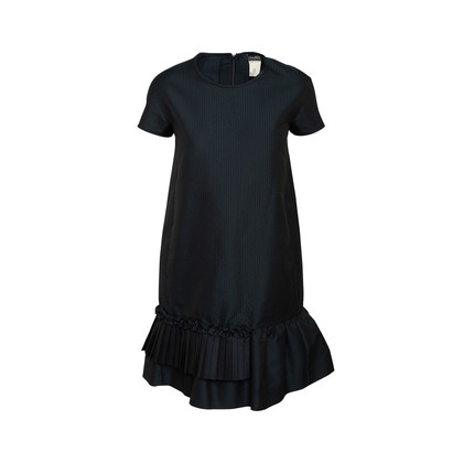 Authentic Second Hand S Max Mara Ruffled Shift Dress (PSS-A26-00026)