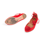 Authentic Second Hand Aquazzura Sunshine Suede Flats (PSS-A43-00001) - Thumbnail 4