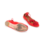 Authentic Second Hand Aquazzura Sunshine Suede Flats (PSS-A43-00001) - Thumbnail 5