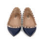 Authentic Second Hand Valentino Rockstud Ballerina Flats (PSS-A46-00001) - Thumbnail 0
