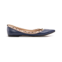 Authentic Second Hand Valentino Rockstud Ballerina Flats (PSS-A46-00001) - Thumbnail 1
