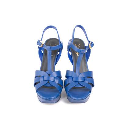 Authentic Second Hand Saint Laurent Tribute Sandals (PSS-A46-00002)