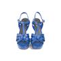 Authentic Second Hand Saint Laurent Tribute Sandals (PSS-A46-00002) - Thumbnail 0