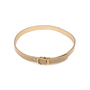 Authentic Second Hand Salvatore Ferragamo Chain Mesh Embedded Belt (PSS-A46-00006) - Thumbnail 1