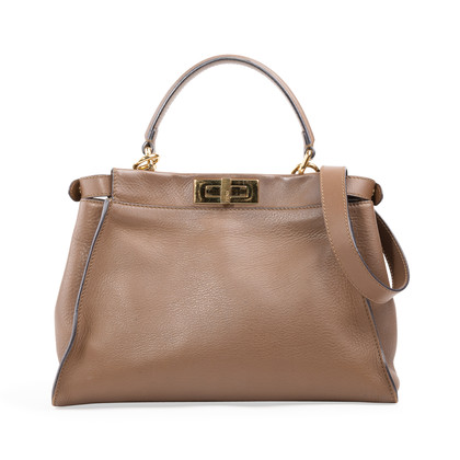 Authentic Second Hand Fendi Peekaboo Bag (PSS-A46-00012)