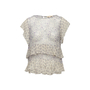 Authentic Second Hand Rebecca Taylor Sheer Printed Top (PSS-097-00888) - Thumbnail 0
