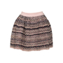 Authentic Second Hand Chanel Flare Tweed Skirt (PSS-370-00151) - Thumbnail 0