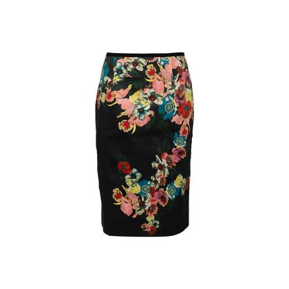 Authentic Second Hand Erdem Floral Pencil Skirt (PSS-370-00168)