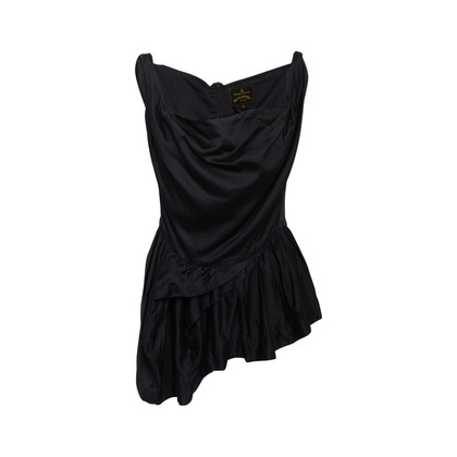 Authentic Second Hand Vivienne Westwood Anglomania Ruffle Waist Top (PSS-370-00170)