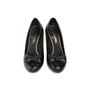 Authentic Second Hand Chanel Bow Toe Cap Pumps (PSS-672-00017) - Thumbnail 0