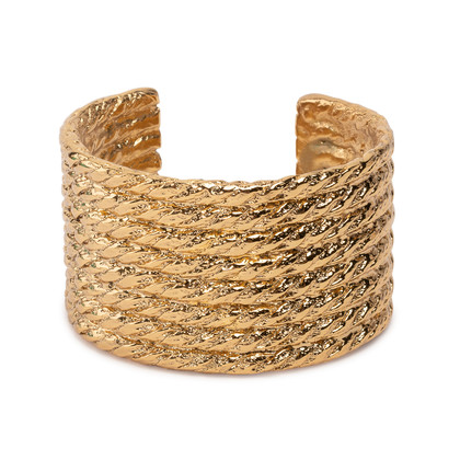 Authentic Second Hand Yves Saint Laurent Rope Cuff (PSS-A38-00003)