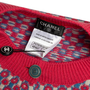 Authentic Second Hand Chanel Check Cashmere Cardigan (PSS-990-00466) - Thumbnail 3